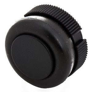 PUSHBUTTON HEAD BOOTED FRONT MNT BLACK