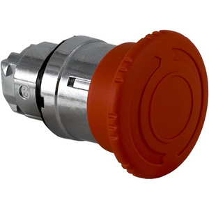 EMERGENCY STOP TRIGHEAD 40MM TWT-REL RED