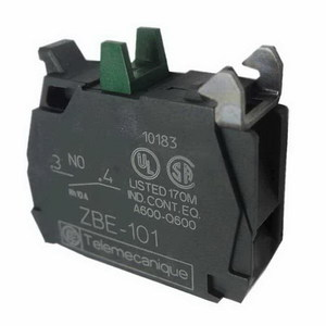 CONTACT BLOCK 1NO 3A 240VAC STD SINGLE