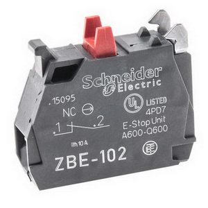 CONTACT BLOCK 1NC 3A 240VAC STD SINGLE