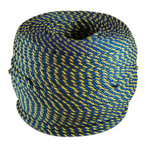 ROPE 6MMX400M PP BLUE/YELLOW (675/00294)